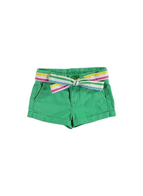 012 Benetton Şort Yeşil